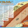 2015 Beaches and Bike paths map