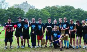 Grab Your Broomsticks -- it's Quidditch Time!