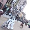 Peruko Ccopacatty's Art Graces Kennedy Plaza