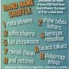 2018 Music Awards Trivia: Band Name Shuffle