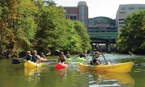 Paddling Through Providence