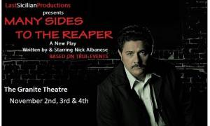 5 Questions With: Playwright & Actor Nick Albanese Talks About Many Sides to the Reaper