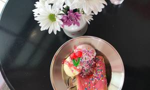 Just Beyond the Rainbow Sprinkles: Vic's Hand-Crafted Ice Cream opens and we're all screaming for it
