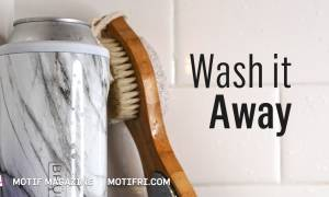 Wash it Away: A shower beer is relaxing and enhances creativity