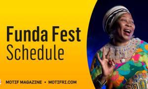 Funda Fest 22 Schedule of Events
